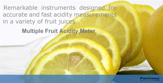 Orange Acidity Meter