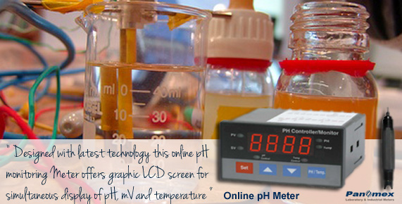 Online Water pH Monitors