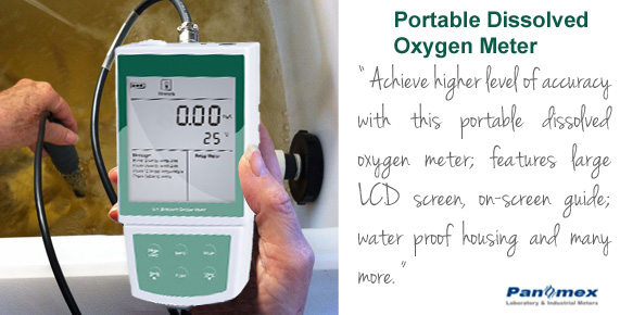 Portable Dissolved Oxygen (DO) Meter