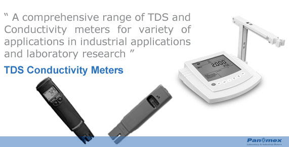 TDS Conductivity Meters Portable and Tabletop Models