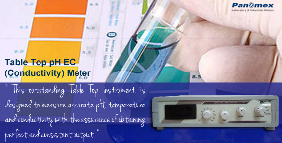 Tabletop pH ORP Temperature Meter