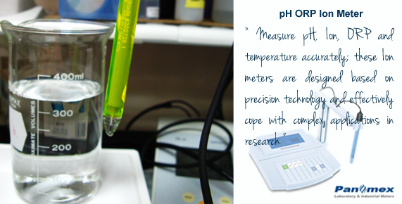 pH ORP Ion Meter