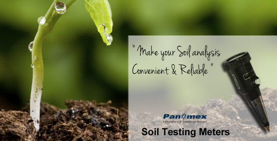 Soil evaluation of Multi-purpose digital soil tester